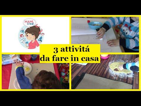 3 Attivitá Da Fare In Casa Con I Bambini 1parte Mami Crea