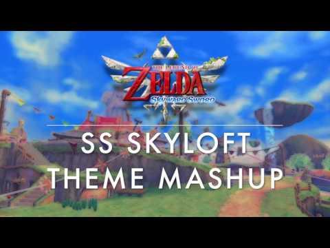 LoZ SS Skyloft Theme Mashup (Skyward Sword/Hyrule Warriors)