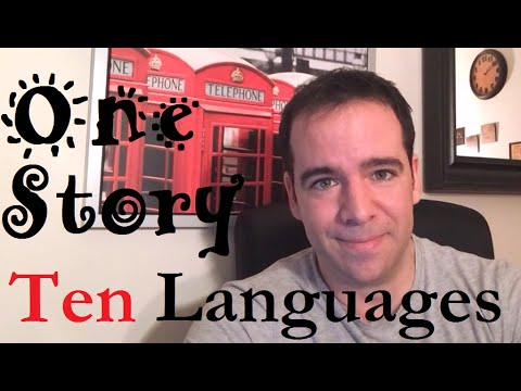 Polyglot Tells A Story In 10 Languages: Why Are Children So Good At Learning Languages?
