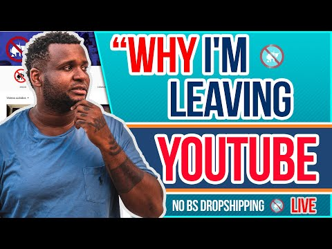 Why I'm Leaving YouTube to Focus on eBay and Amazon Dropshipping   LIVE Q&A