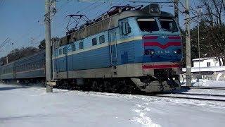 ЧС4-188 с пассажирским поездом №45(, 2018-03-05T16:46:23.000Z)
