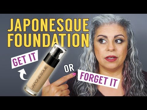 BEST FOUNDATION for MATURE SKIN? | Japonesque Foundation Review
