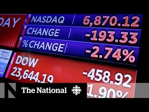 Stock markets take hit as China slaps U.S. with tariffs