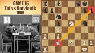 The Impossible Checkmate!? | Tal vs Botvinnik 1960. | Game 16