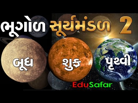 Solar System Sury Mandal Part 2 Geography in Gujarati