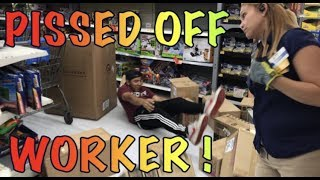 BREAKING ALL THE RULES AT WALMART!! (MANAGER CALLED//WORKERS MAD) F...