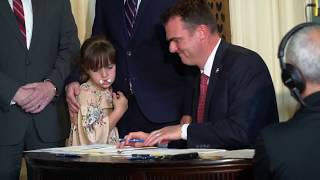 Gov. Stitt signs general appropriations bill into law