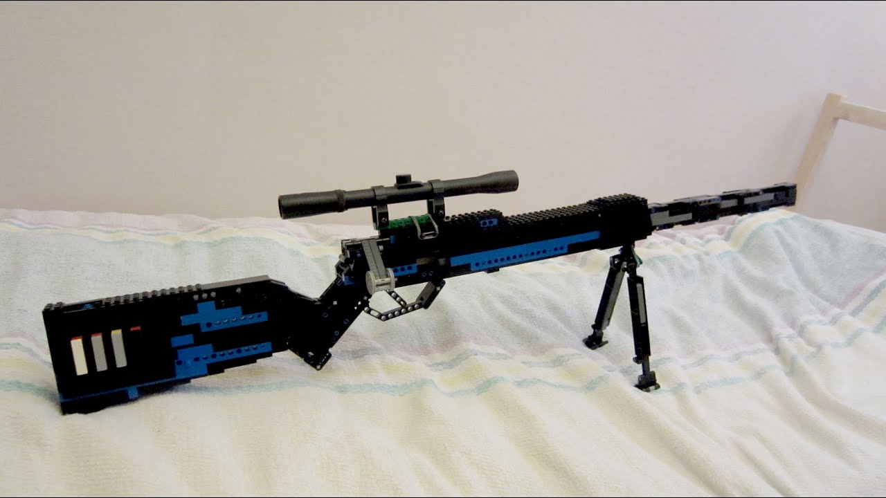 Sniper Rifle Scope Gun Nerf