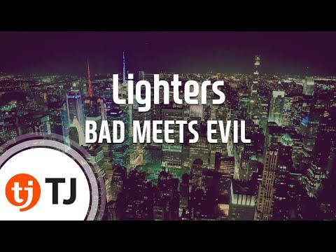 [TJ노래방] Lighters - BAD MEETS EVIL(Feat.Bruno Mars) / TJ Karaoke