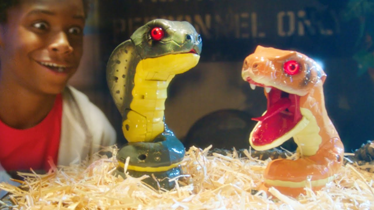 UNTAMED Snakes and Legends Dragon Toys Are Ready To Strike