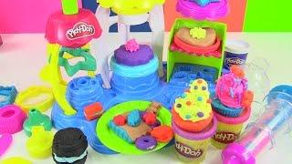 Đồ Chơi Play-doh Tiệm Bánh Vui Vẻ Mới - Ngon Ngon (Chị Bí Đỏ) New Play-doh Frosting Bakery Playset thumbnail