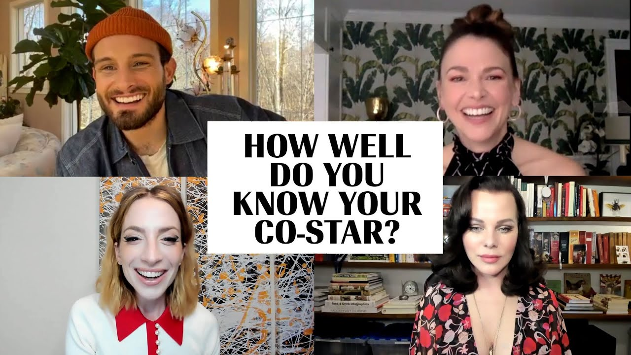 The Cast of 'Younger' Plays 'How Well Do You Know Your Co-Star?' | Marie Claire