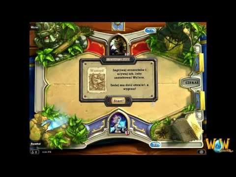 Polska wersja Hearthstone: Heroes of Warcraft [Beta] - Samouczek, część I - WoWCenter.pl