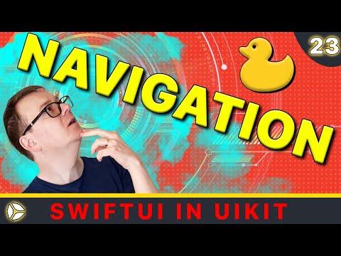 SwiftUI in UIKit - Navigation   Swift 5, Xcode 10 thumbnail