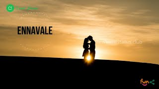 Whatsapp Status Tamil | Ennavale Adi Ennavale - Kadhalan