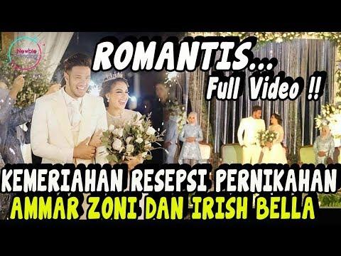 BERITA TERBARU AMMAR ZONI DAN IRISH BELLA – Suasana Resepsi Pernikahan Irish Bella dan Ammar Zoni