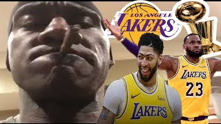 Shannon Sharpe's ULTIMATE reaction to Anthony Davis/Lakers Trade (MUST WATCH)