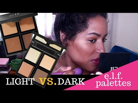 New Elf Cosmetics DEEP CONTOUR PALETTE vs the ORIGINAL CONTOUR Palette | Which One Should You Buy