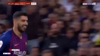ملخص مباراة ريال مدريد و برشلونة 0 3 تألق و ثنائية عالمية للويس سواريز   جنون عصام الشوالي!