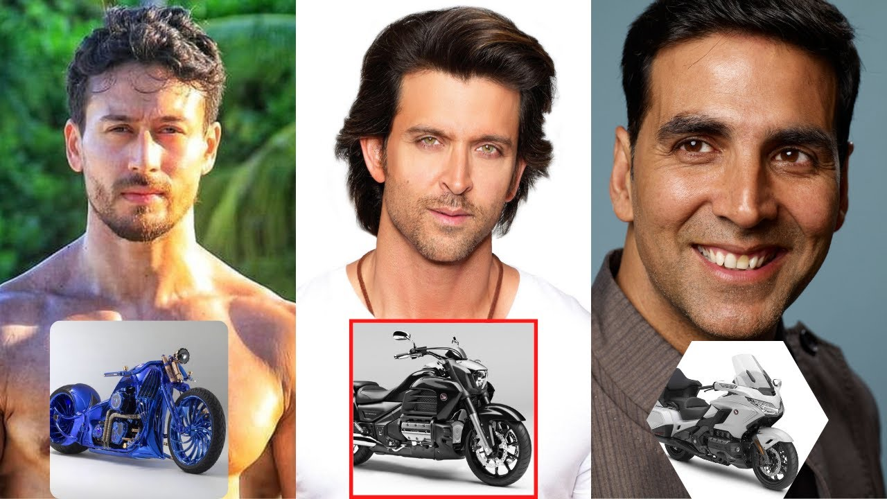 10 Bollywood Actors Most Expensive Bikes - Tiger Shroff, Akshay Kumar, Salman Khan, Hrithik Roshan