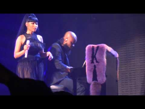 Nicki Minaj - Grand Piano (Live) @ Paris (26.03.2015) HD