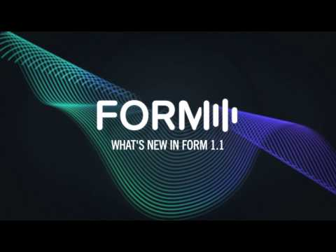 What's new in FORM 1.1 | Native Instruments