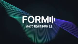What's new in FORM 1.1