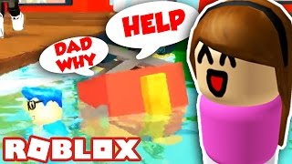 RAISING A BABY IN ROBLOX WITH JD!!