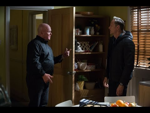 EastEnders - Phil Mitchell Punches Ray Kelly (28th December 2018)