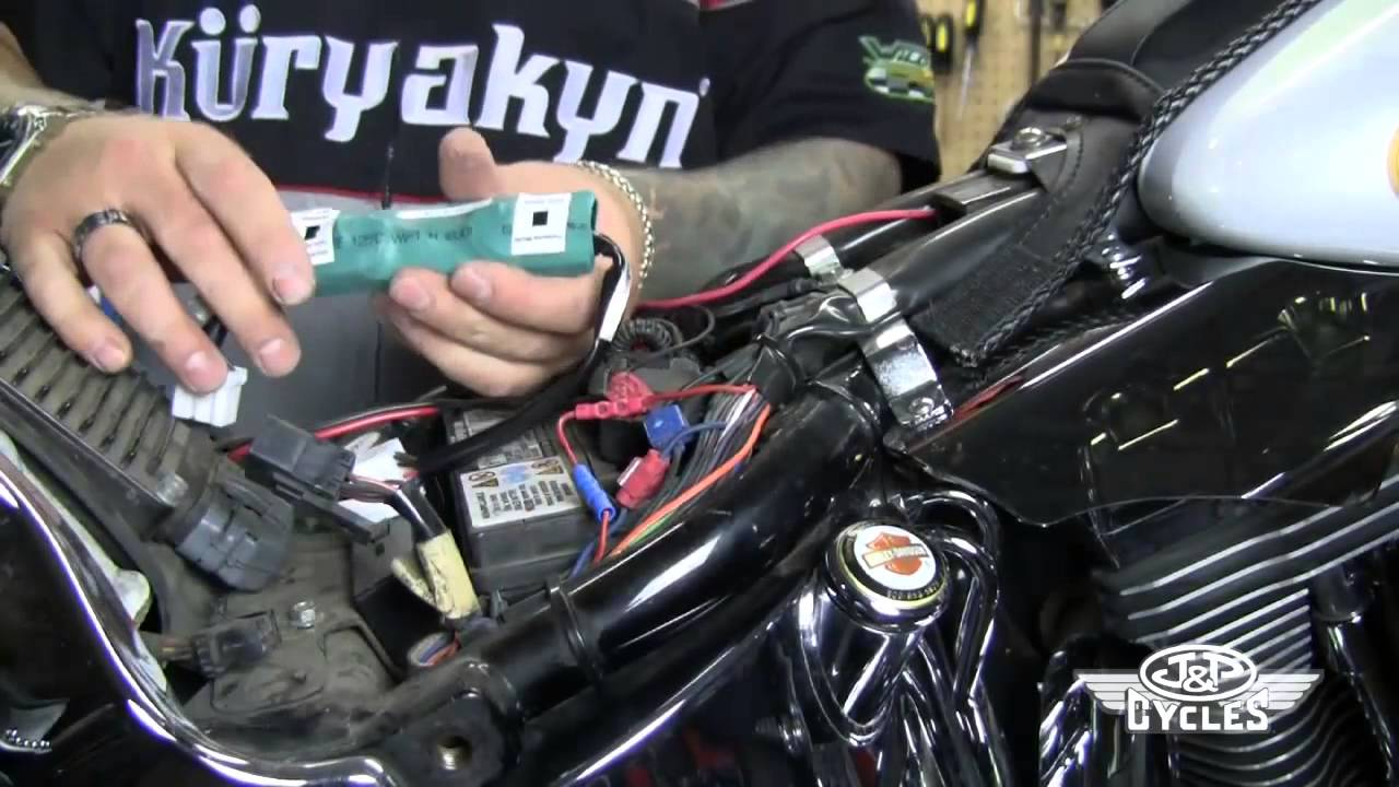 Kuryakyn Panacea Taillight Installation Available At Jp Cycles Wiring Diagram