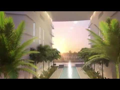 Peloro Miami Beach New Waterfront Development Animation