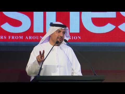 Winner's Stage: Arabian Business Achievement Awards 2018 - Dr Habib Al Mulla
