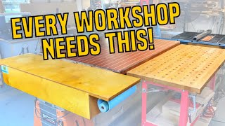 The Best and Easiest Way to Protect Your Work Surfaces | Craft Paper Storage Hack | ...and Bloopers