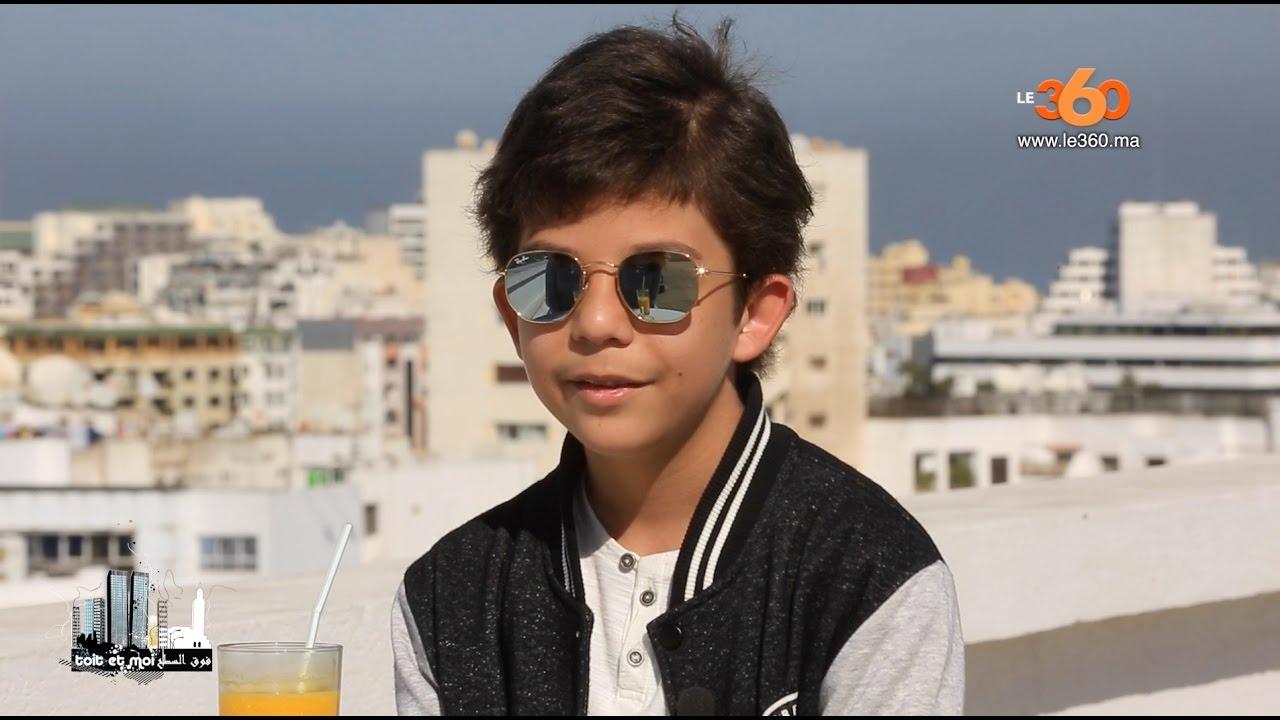 Le360.ma • Rencontre avec Neil, le plus jeune animateur du Maroc