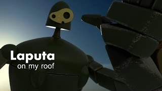 VFX animation test done in blender 3d the robot design is from haya...