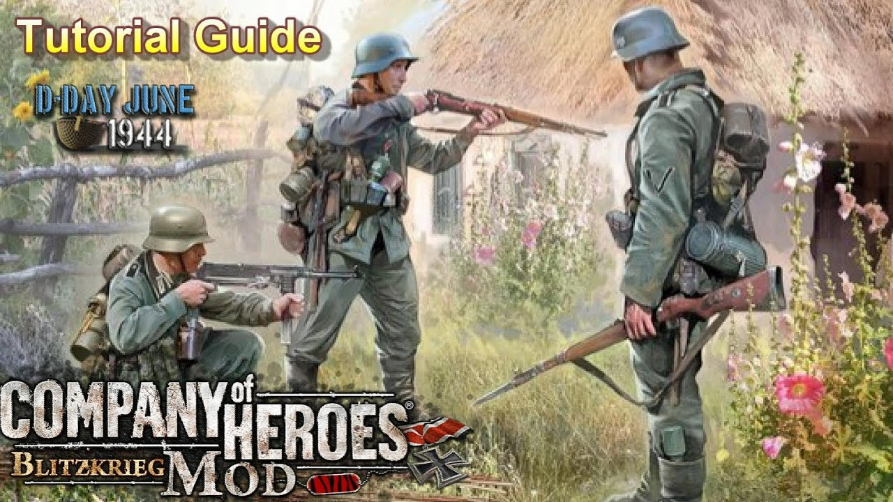 CoH Blitzkrieg Mod Tutorial Guide _ Basics & Features - Tips & Tricks