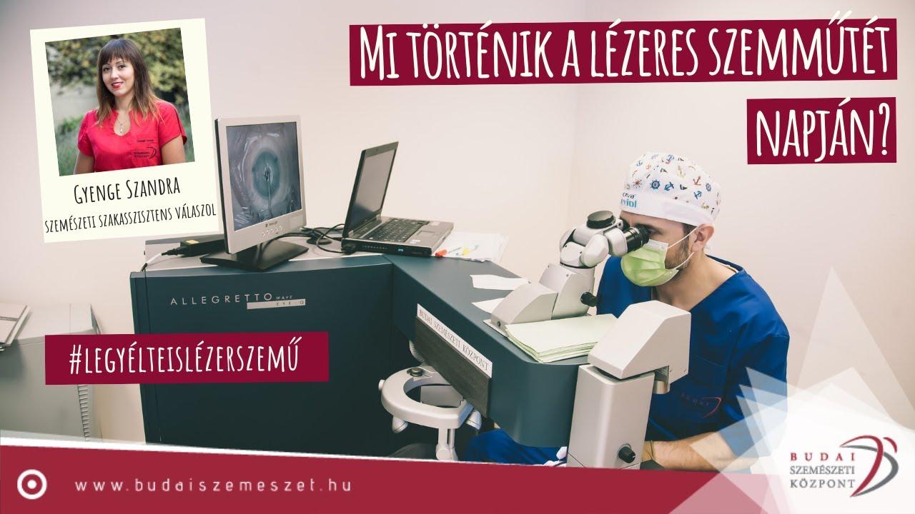 Hogyan történik a szemműtét? Myopia