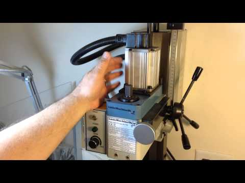 Drilling on the Mini MIll