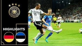DFB-Team feiert Offensivfeuerwerk | Deutschland - Estland 8:0 | Highlights | EM-Qualifikation