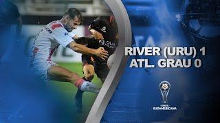 River Plate (Uru) vs. Atlético Grau [1-0] | RESUMEN | Primera Fase (Vuelta) | Sudamericana 2020