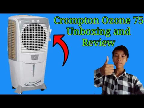 Crompton Ozone 75 Cooler Unboxing and Review
