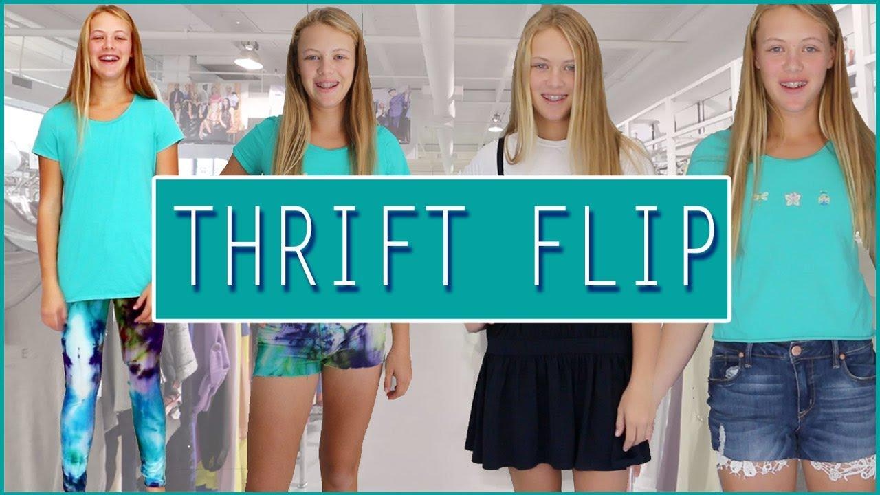 [VIDEO] - THRIFT FLIP ☆ DIY Clothing Thrifting Transformation 2