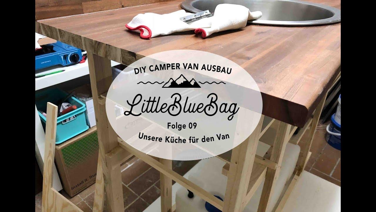 wohnmobil selbstausbau k che f r den camper selbst bauen teil 1 folge 09 youtube. Black Bedroom Furniture Sets. Home Design Ideas
