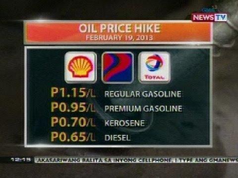 BT: Oil price hike (Feb 19, 2013)