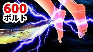 自分では感電せずに電気を起こす電気ウナギの仕組みとは?