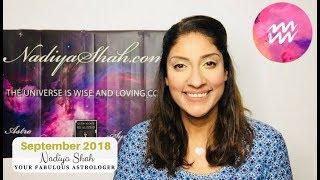 Video ♒ Aquarius September 2018 - Astrology Horoscope by Nadiya Shah download MP3, 3GP, MP4, WEBM, AVI, FLV September 2018