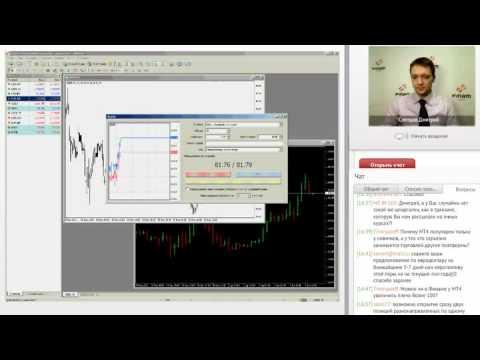 Дмитрий Слепцов - Работа в программе MetaTrader 4
