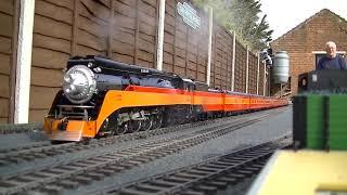 Live Steam Accucraft Gauge 1 Daylight Express