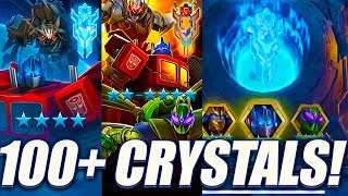 100+ Crystal Opening - 4 Stars & More - Transformers: Forged To Fight