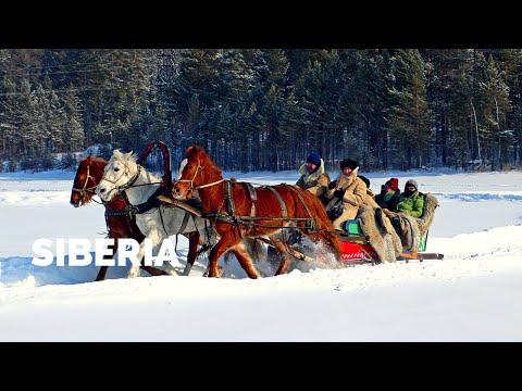 Sleigh Ride on Siberia's Lake Baikal